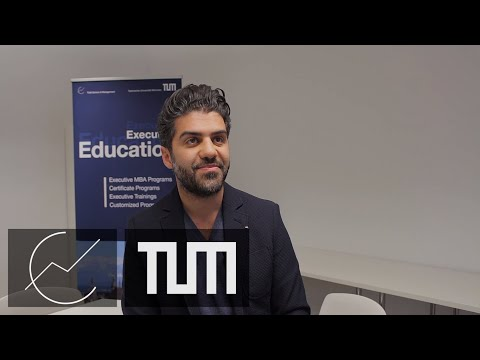 Dr. Keywan Taghetchian about the Executive MBA at TUM