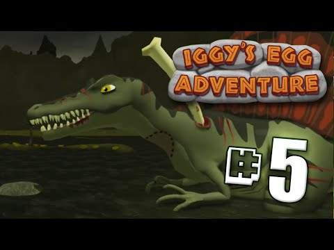 Spinosaurs Boss | Iggy's Egg Adventure - Full Tar Pits Walkthrough - Ep5