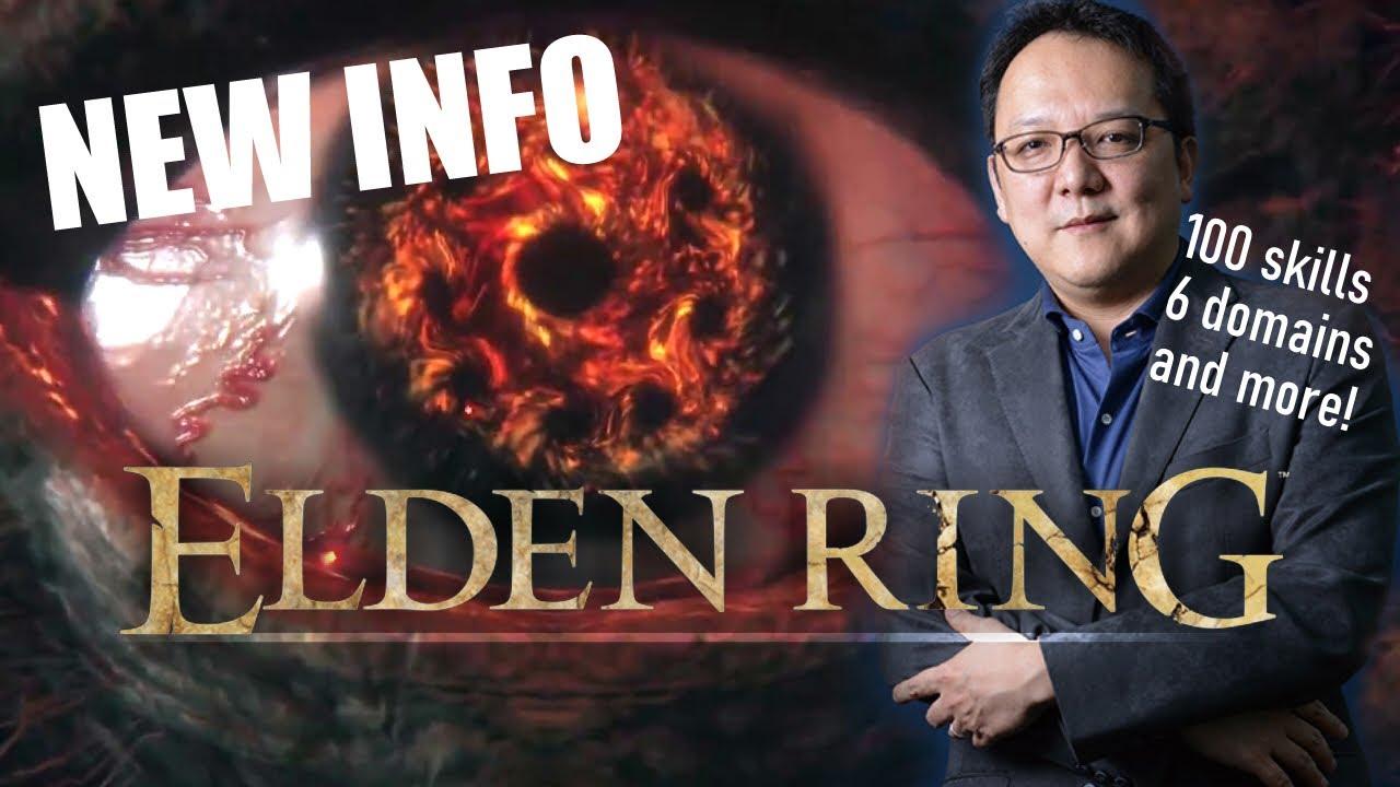 Elden Ring | NEW INFO w/ Miyazaki Interview 6 Domains + an EASIER SOULS GAME? NEWS UPDATE