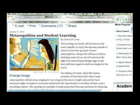 Using Instapaper To Save And Download HTML Web Content To An EReader