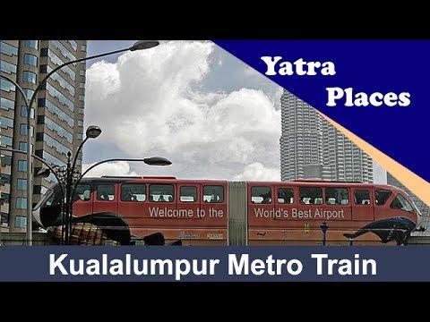 Kuala lumpur metro train, Malaysia