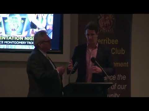 2017 Presentation Night: Michael Barlow Q&A