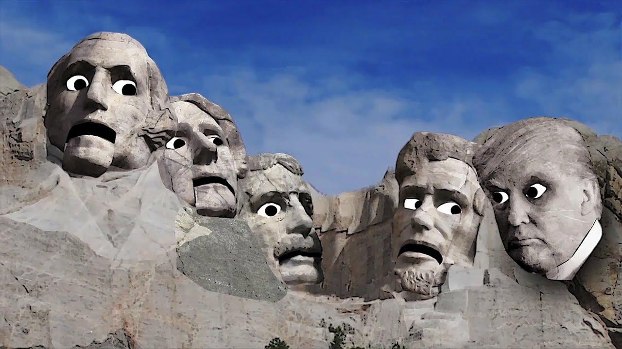 Donald Trump On Mount Rushmore Titus Toons Cartoon