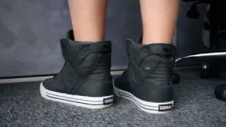 Boy feet and Supra Skytops