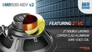 PRV Audio NEW 8MR500-NDY v2 / 8
