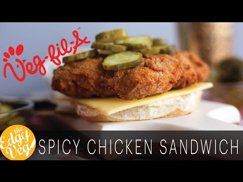 Vegan Recipe: Chick-fil-A Chicken Sandwich | The Edgy Veg