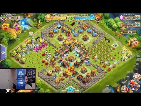 JT's Main Hero Collector + Channel Update Castle Clash