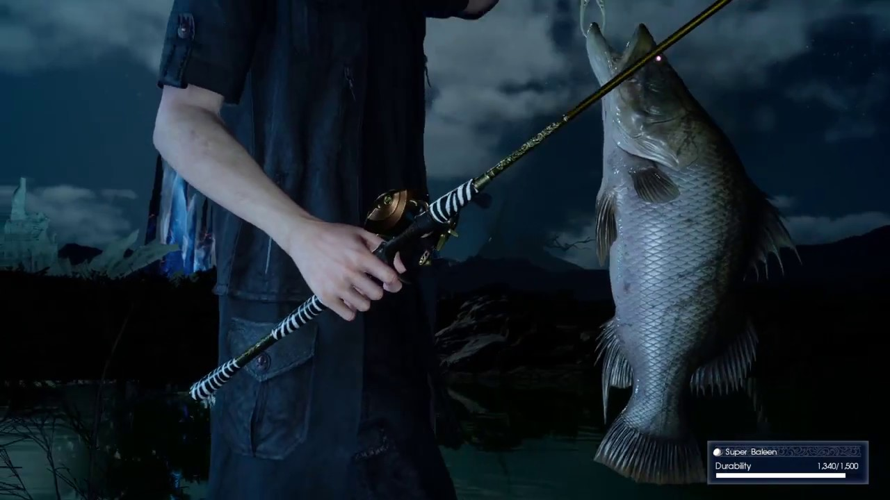 Final fantasy xv how to get knife t tonberry lure youtube for Final fantasy 15 fishing