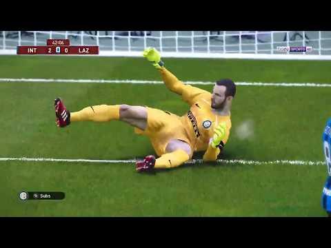 PES 2020 League Inter Milan Vs Lazio - YouTube