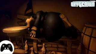 БЕНДИ ГЛАВА 4 ВЫШЛА?! БАГИ ПРИКОЛЫ ПРОХОЖДЕНИЕ BENDY AND THE INK MACHINE CHAPTER 4 DOWNWARD FALL