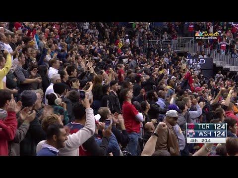 4th Quarter, One Box Video: Washington Wizards vs. Toronto Raptors
