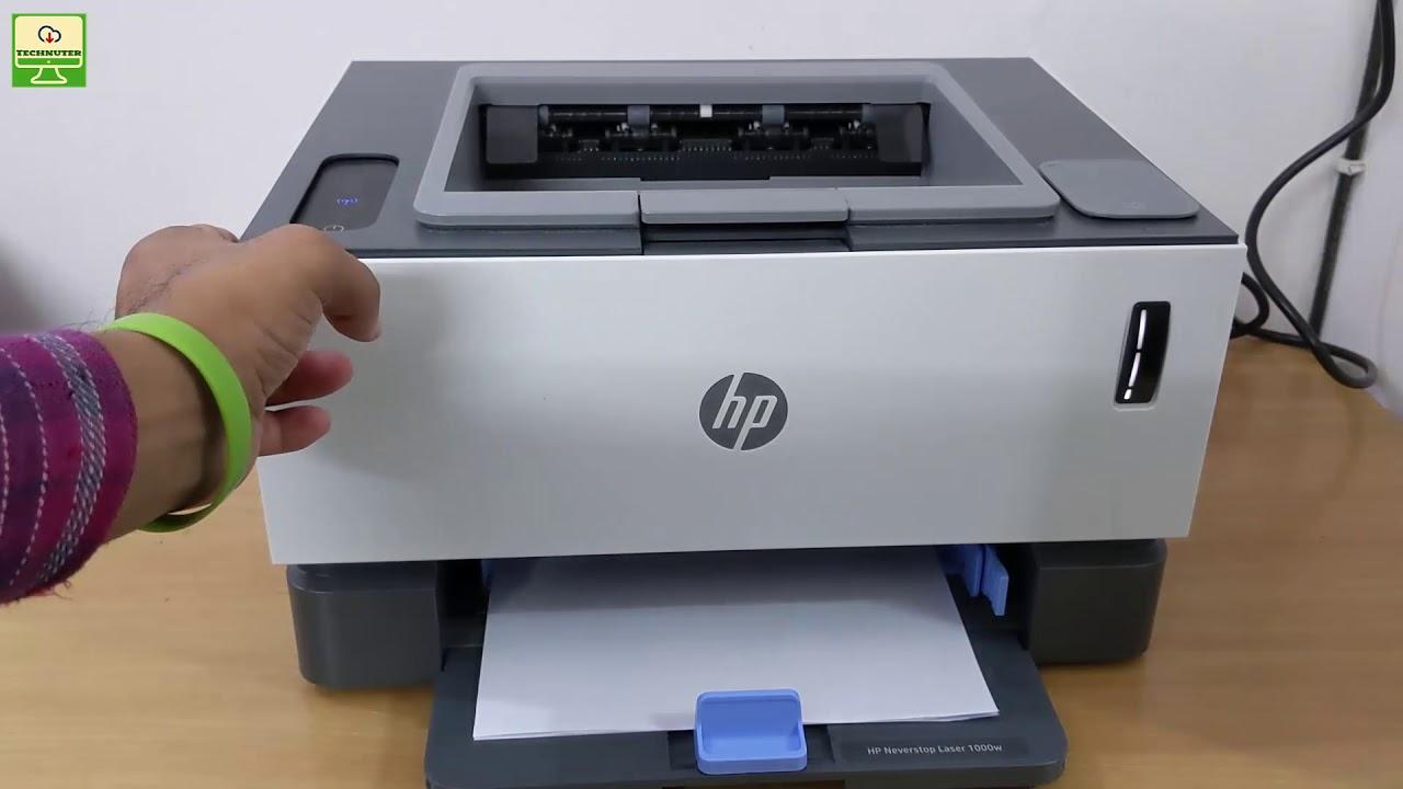HP Neverstop 1000 Printer Review [Hindi]