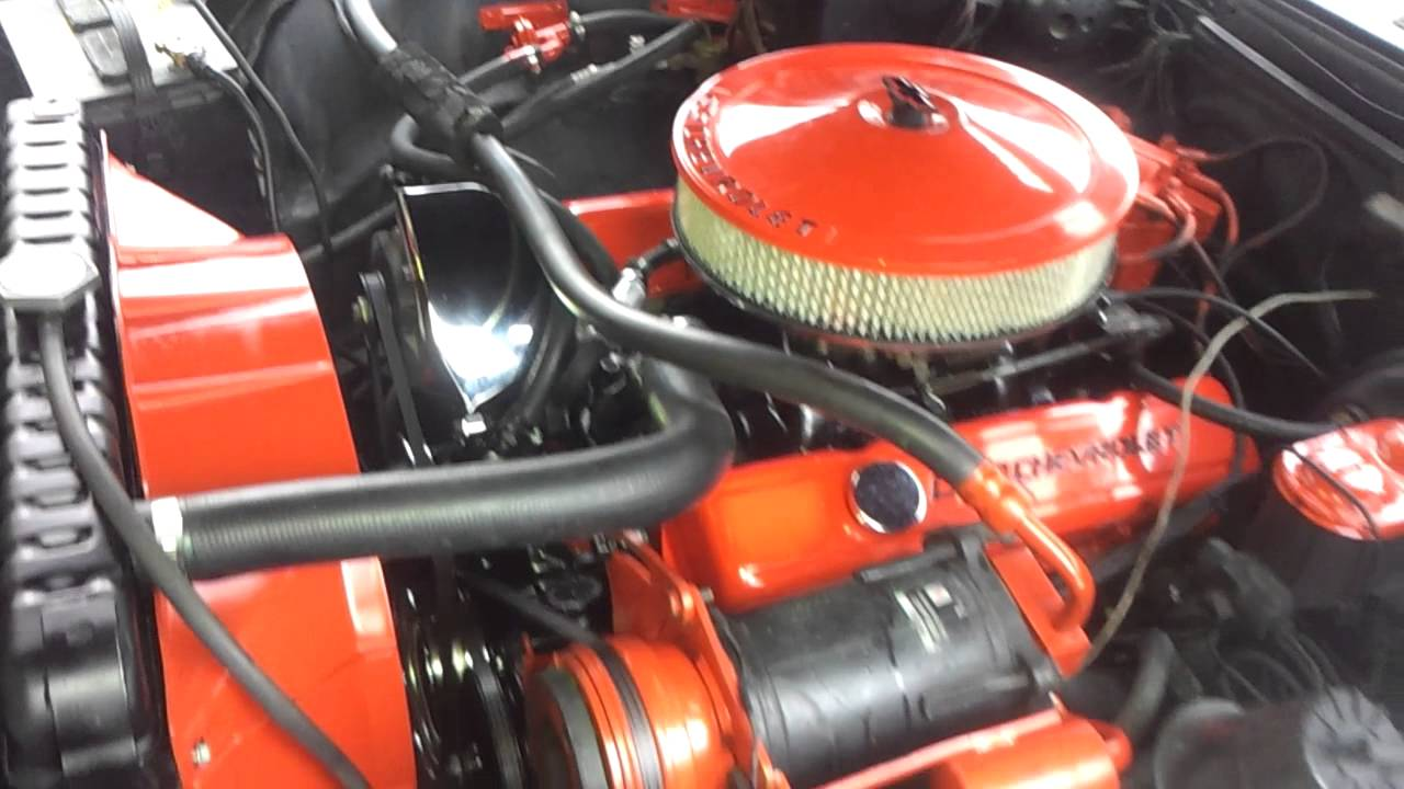 1970 Chevy Caprice 350 Engine Youtube