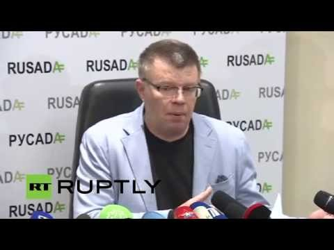 LIVE: Anti-Doping Agency RUSADA holds press conference following accusations of doping fraud