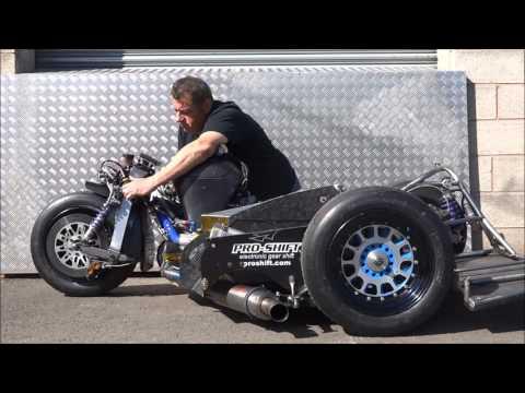 Triumph Daytona R IOM TT Sidecar Fitted With PS. & DBS