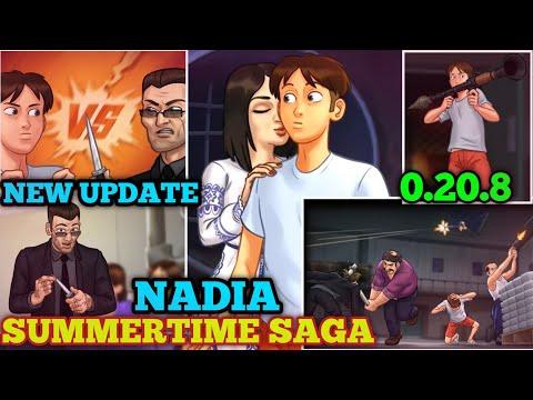 NADIA'S QUEST | NEW UPDATE 0.20.8 SUMMERTIME SAGA MAIN STORY PART 3| WALKTHROUGH PART #2