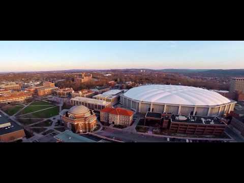 Campus montage of Syracuse University