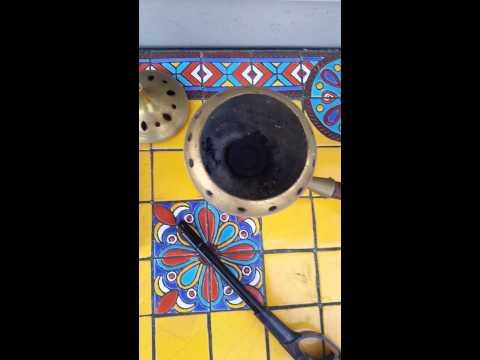How to burn frankincense resins w/ charcoal burner