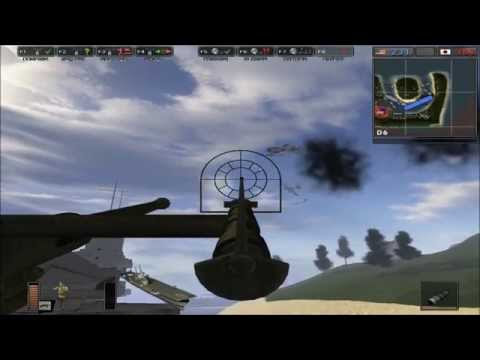 Battlefield 1942 Attack on Pearl Harbor Map
