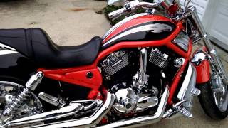 vrod and vmax walk around exhaust