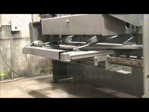 "Standard Industrial Model AS375 .375"" A36 Capacity Shears  100% U.S. Made"