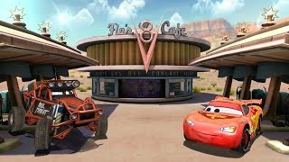 Lightning McQueen Vs Monster Car & Miguel Camino Disney PIXAR Cars Game Play for Kids #cars