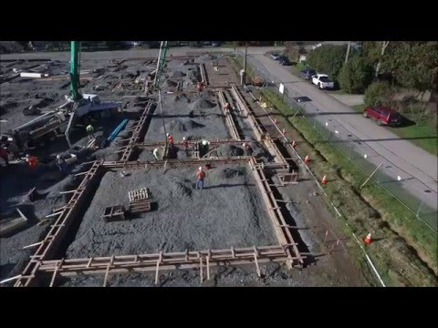 Olympic Hills Elementary School Construction Progress - February 2016