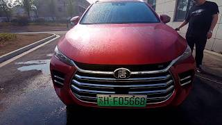 Chinese Hybrid Cars BYD Tang test drive