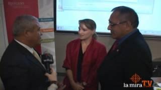 Luciana Leon es reconocida en Nueva Jersey