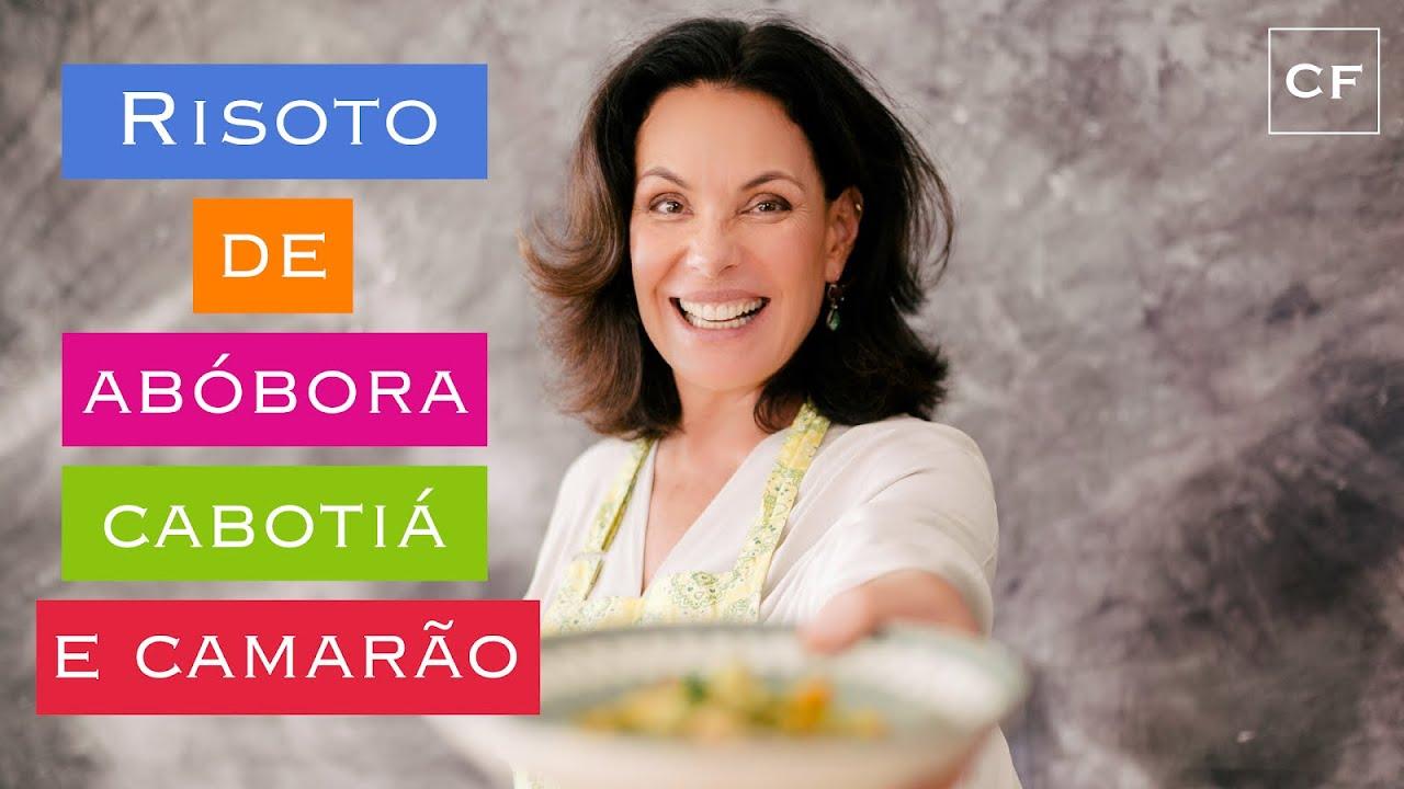 Risoto de Abóbora com Camarão - Na Cozinha com Carolina
