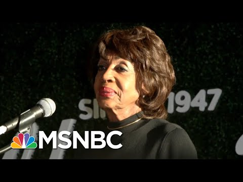 Rep. Maxine Waters On Fight with President Trump: 'The President Lied Again' | The 11th Hour | MSNBC