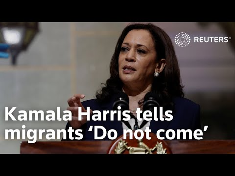 Vice President Kamala Harris in Guatemala tells migrants 'Do not come'