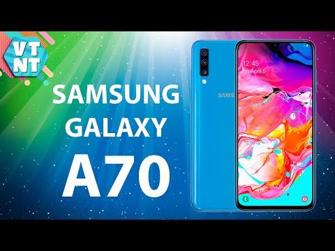Samsung Galaxy A70 Обзор. Тест Камер. Стоит ли покупать? 4k