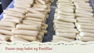 How to- Mag-balot ng Pastillas