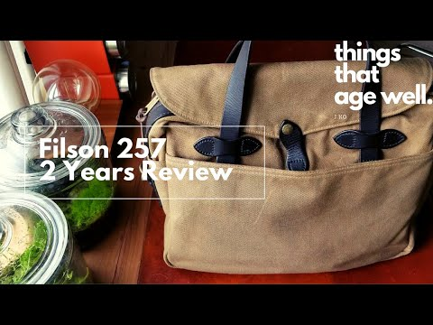 Filson 257 Briefcase 2 Years Review