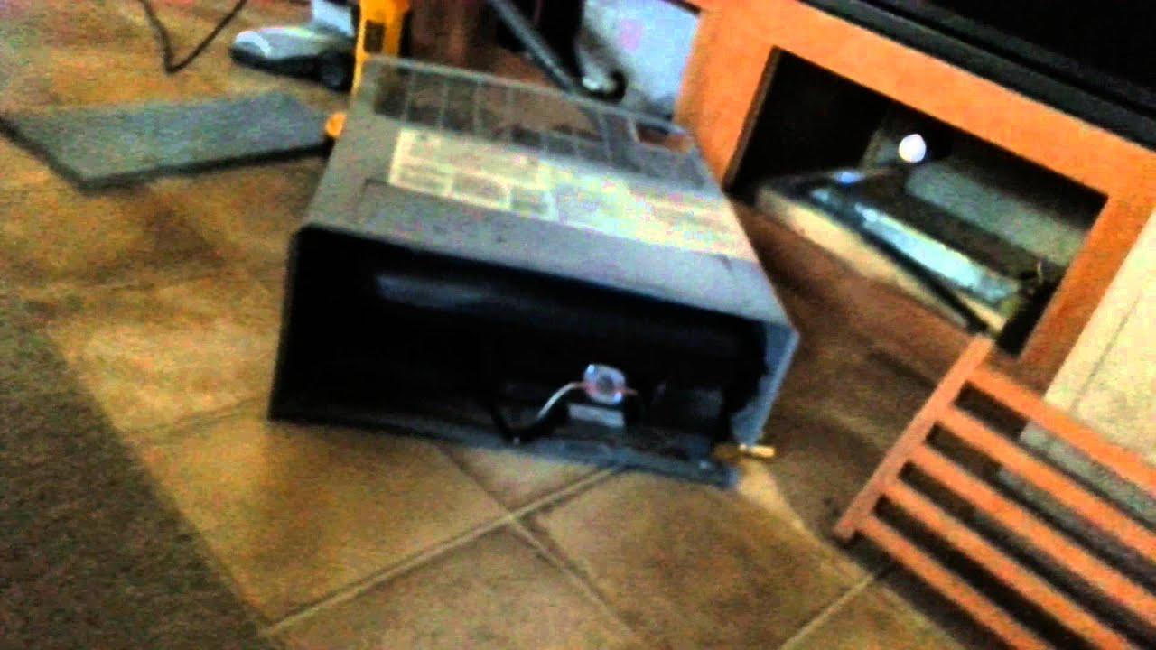 Removing Propane Furnace Rv Heater Youtube