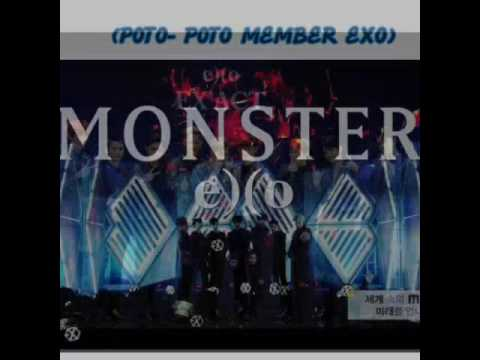 Lagu EXO MONSTER and foto foto member exo