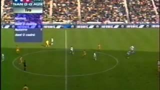 FC Nantes - AJ Auxerre, Quarts de finale CDF 2000-01