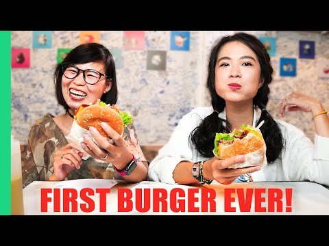 Vietnamese Girls Try Cheeseburgers for the FIRST TIME!!! HUGE Saigon Burger Tour in Vietnam!