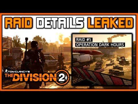 Подробности рейда в The Division 2