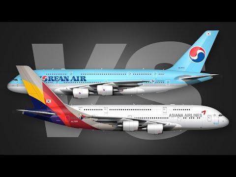 Asiana A380 Business Class Vs Korean Air A380 Business Class