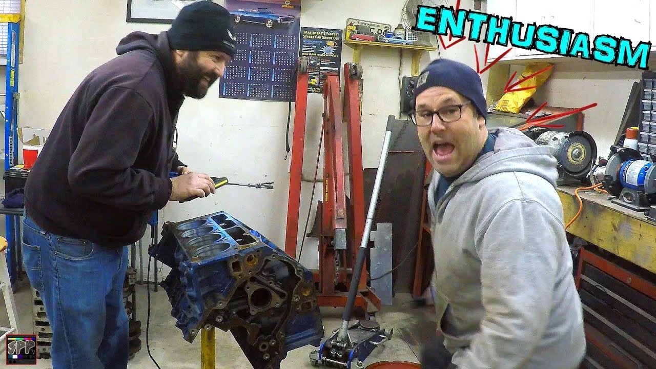 Turbo 6 0 LS Junkyard SH!THORSE Ultimate Edition | Building The OG Engine  With Enthusiasm!