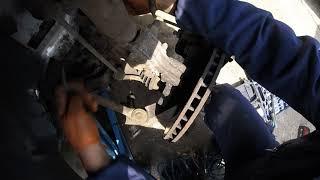Почему ABS загорается Chrysler Voyager Dodge \ Why ABS lights up