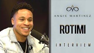 "Rotimi Talks Season 6 of ""Power"",  Starting Off As A Wedding Singer  + New Song ""Love Riddim"""
