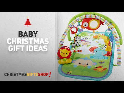 Top 10 Baby Christmas Gift Ideas: Fisher-Price CHP85 Hippo Projection Soother