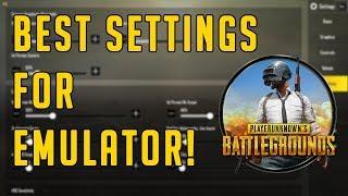 PUBG Mobile Emulator Best Settings! Fix Lagging🔥🔥