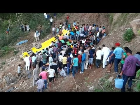 At Least 30 Children Killed In India Bus Accident