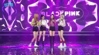 BlackPink whistle SBS inkigayo 1st win - encore