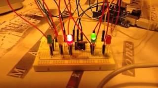 Arduino stoplicht met interrupt