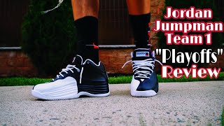 "Jordan Jumpman Team 1 Retro (2020) ""Playoffs"""" Review & Comparison to Jordan 12s"